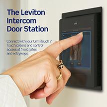 Smart IP Intercom System Leviton Banner